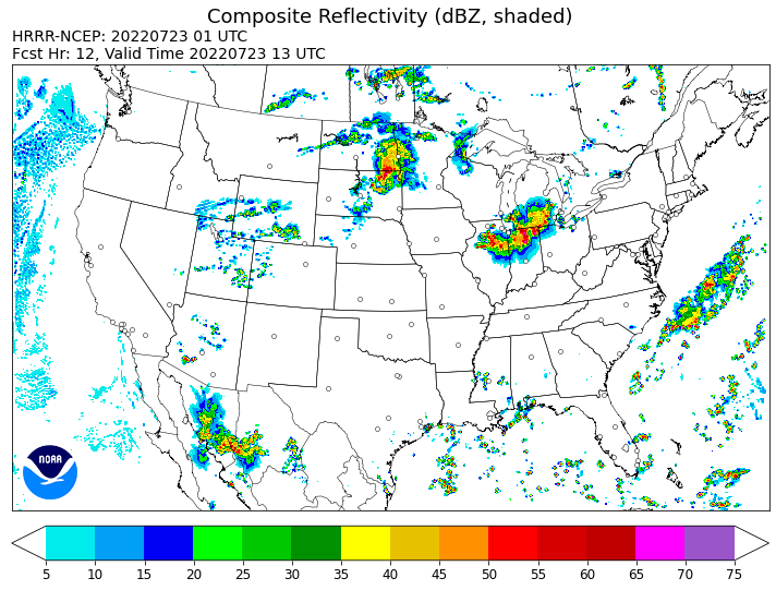 High-Resolution Rapid Refresh (HRRR)
